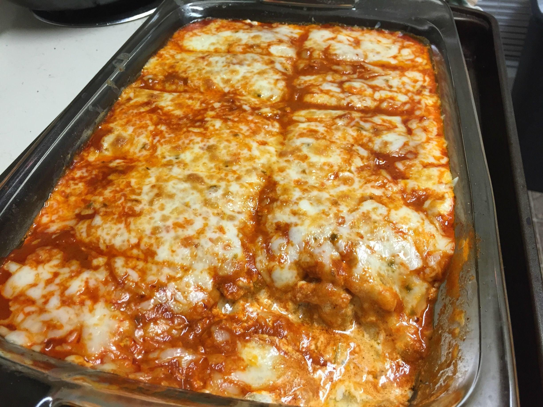 Keto Dinner Recipes Chicken Casserole  Keto Chicken Enchilada Bake It s a mess but suuuuper