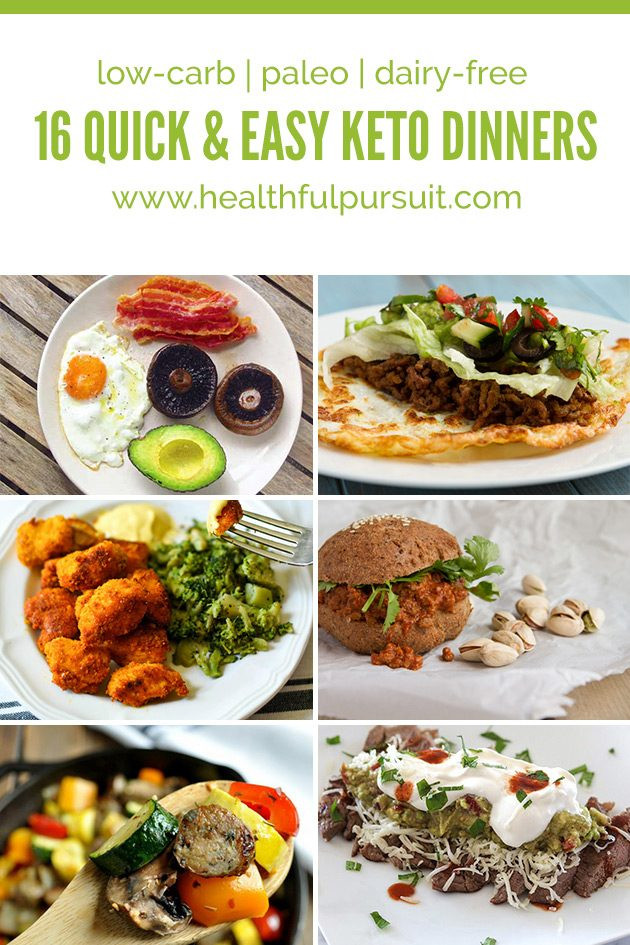 Keto Dinner Recipes Easy Family  16 Quick and Easy Keto Dinners