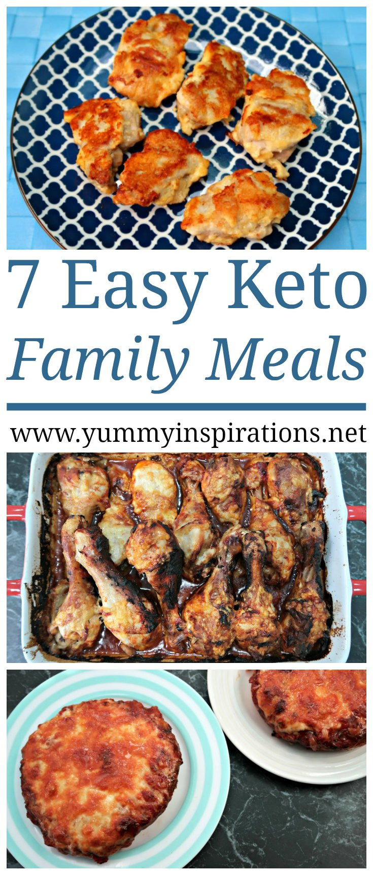 Keto Dinner Recipes Easy Family  7 Keto Family Meals How to follow the Ketogenic Diet