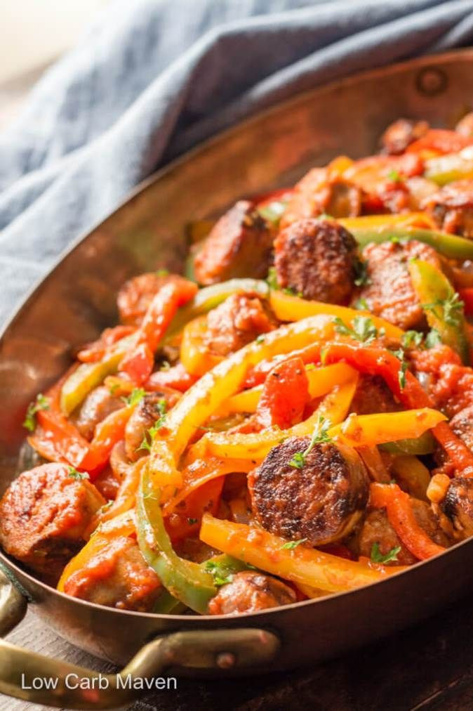 Keto Dinner Recipes Sausage  22 Stupid Simple Quick Keto Dinners That Are Ready In 30