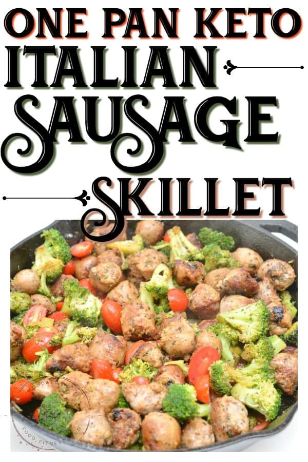Keto Dinner Recipes Sausage  e Pan Keto Sausage Skillet