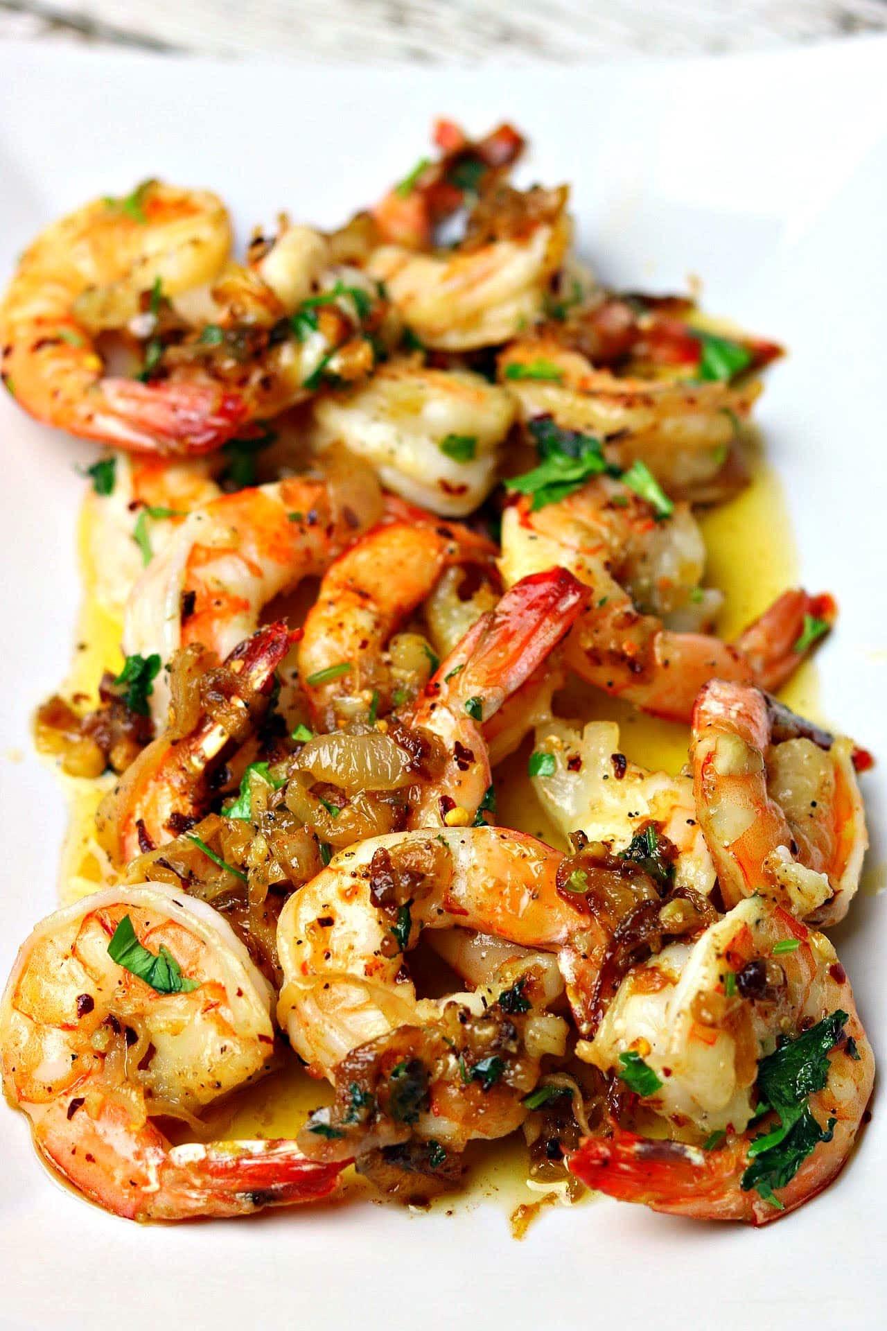 Keto Dinner Recipes Shrimp  Easy Keto Garlic Shrimp Scampi Recipe