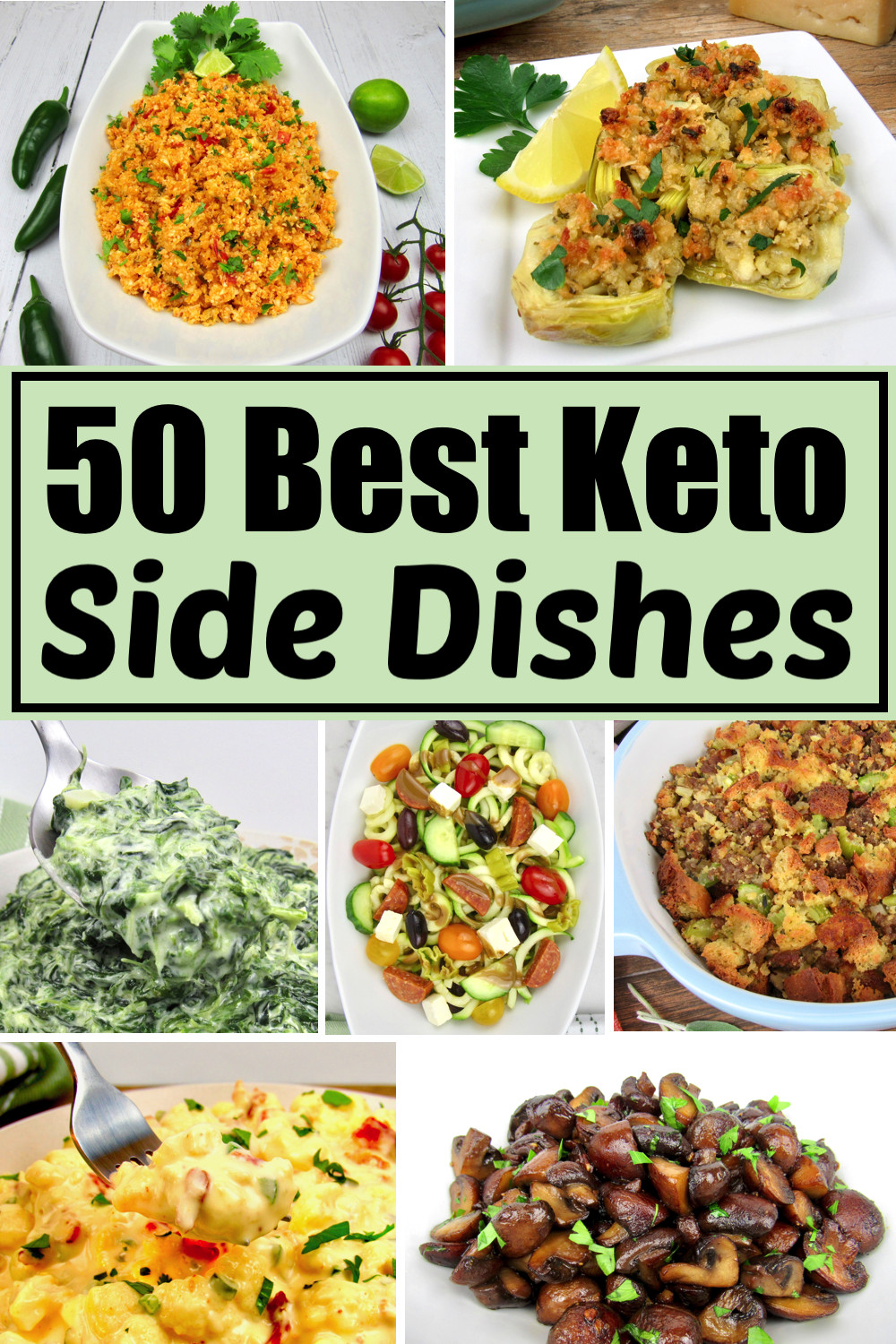 Keto Dinner Side Dishes  25 Best Keto Side Dish Recipes