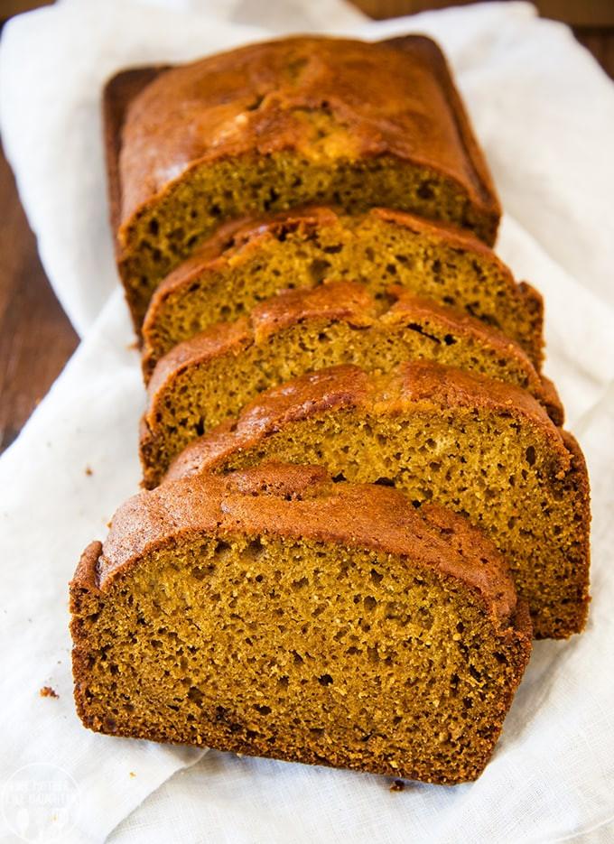 Keto Gluten Free Bread  Easy Keto Pumpkin Quick Bread – Low Carb & Gluten Free