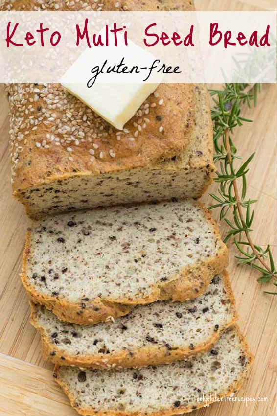 Keto Gluten Free Bread  Gluten Free Keto Multi Seed Bread ly Gluten Free Recipes
