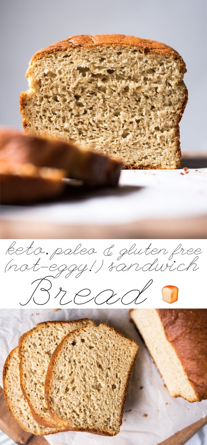 Keto Gluten Free Bread  The Best Not Eggy Paleo Low Carb & Keto Bread