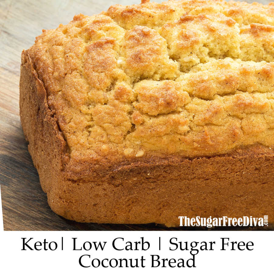Keto Sandwich Bread Coconut Flour  Keto Coconut Flour Bread THE SUGAR FREE DIVA