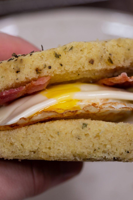 Keto Sandwich Bread Microwave  Microwave Keto Bread Recipe The Protein Chef