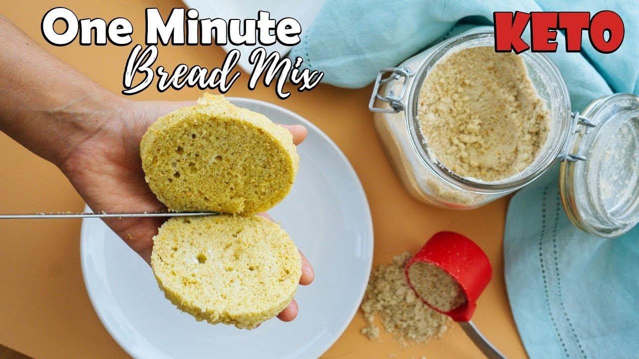 Keto Sandwich Bread Microwave  e Minute Keto Microwave Bread