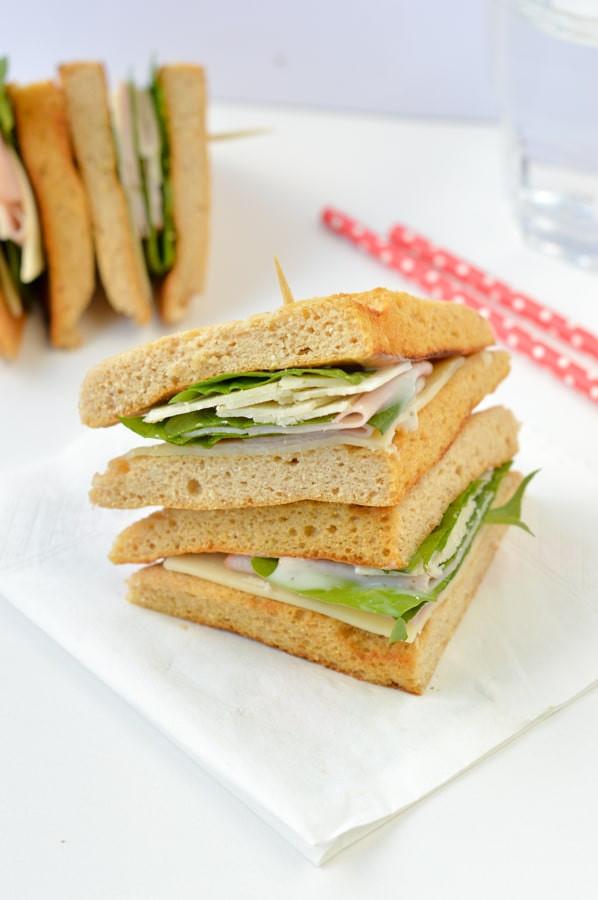 Keto Sandwich Bread Microwave  90 second keto bread