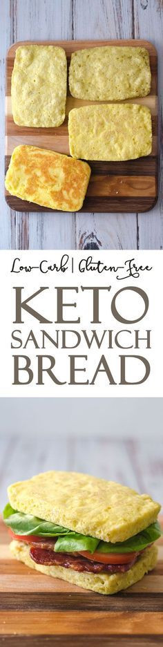 Keto Sandwich Bread Microwave  This keto microwave sandwich bread is great for whenever