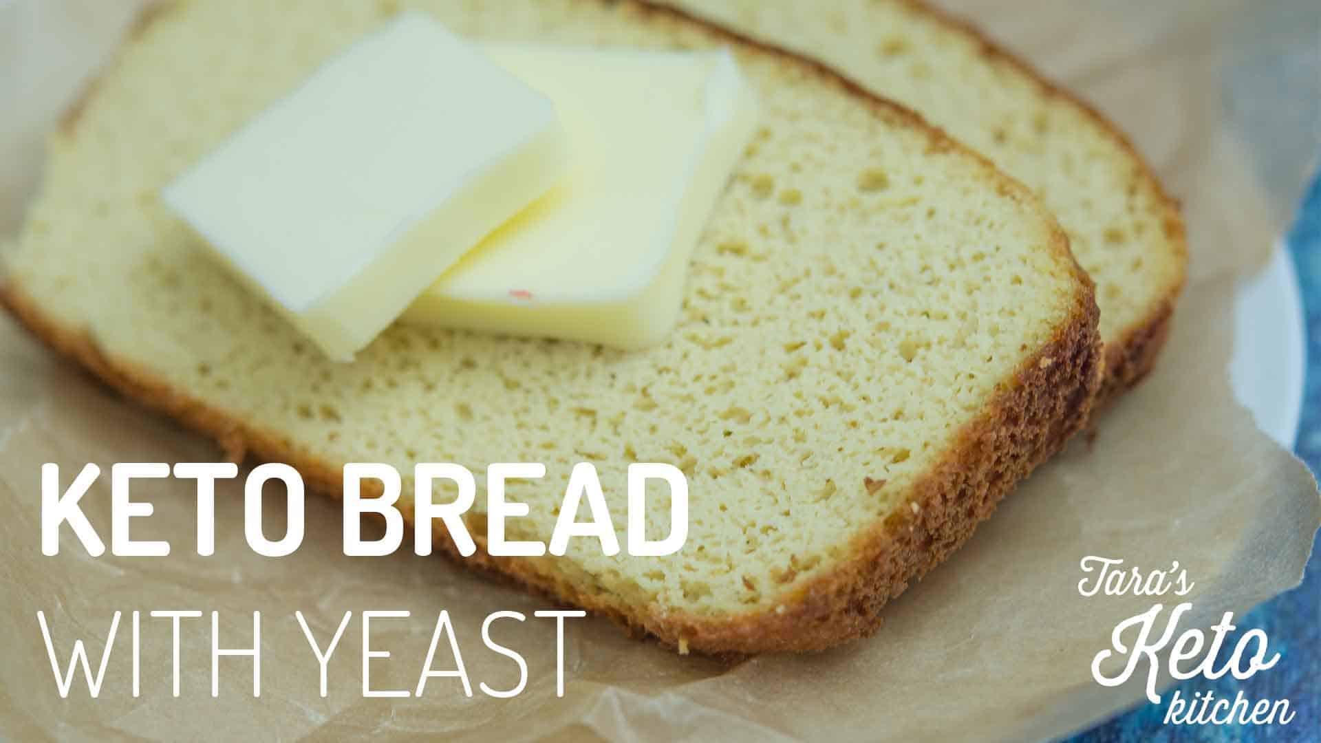 Keto Sandwich Bread Recipes  Keto Coconut Flour Bread with Yeast Dairy Free Tara s