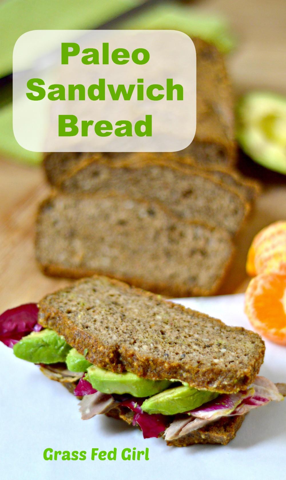 Keto Sandwich Bread Recipes  Keto Sandwich Bread Paleo Low Carb Grain Free & Gluten
