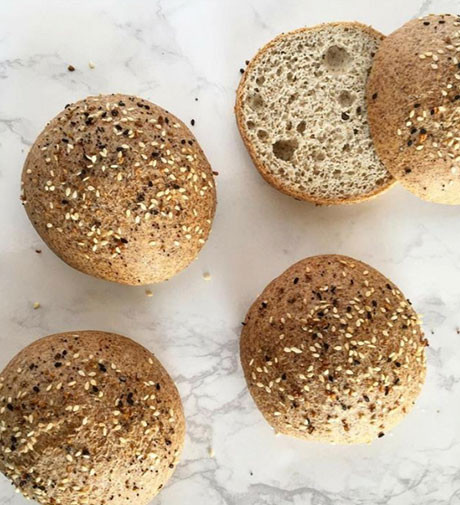 Keto Sandwich Bread Rolls  Best Keto Bread Recipes for Killing Carb Cravings Elevays