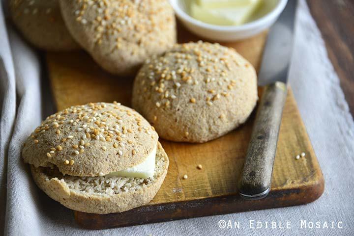Keto Sandwich Bread Rolls  Paleo Low Carb Sandwich Bread Rolls Recipe Keto Buns
