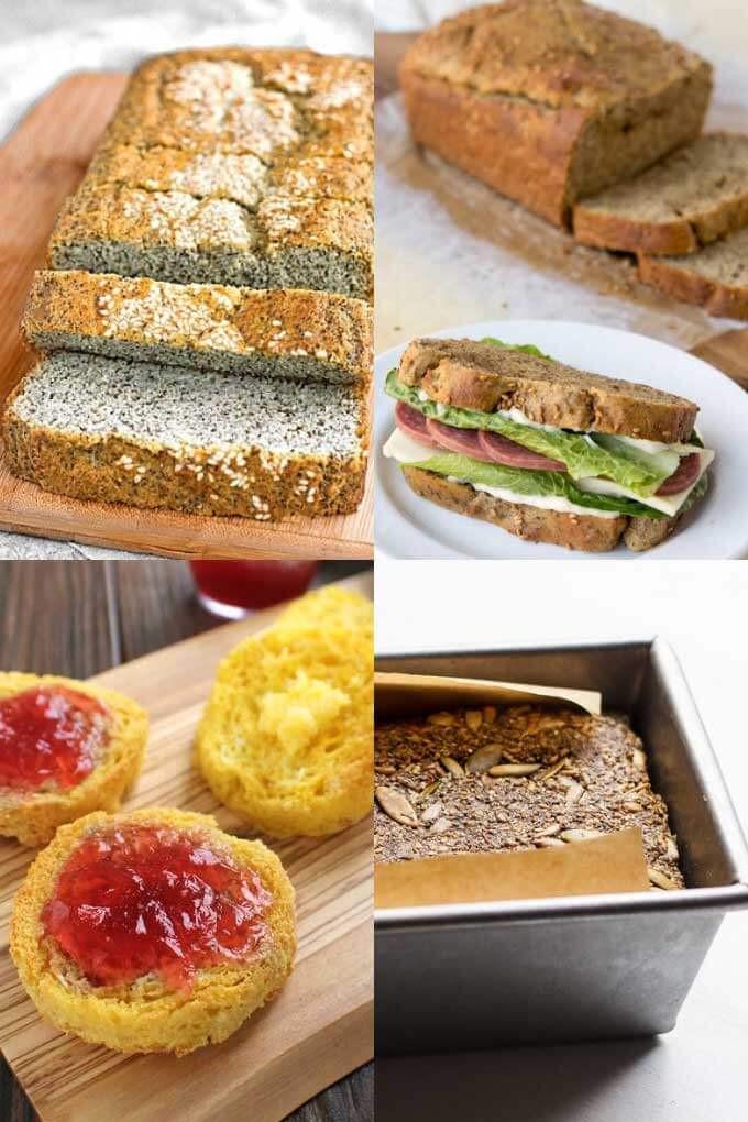 Keto Sandwich Bread Store  20 Easy Keto Bread Recipes for Sandwiches and More