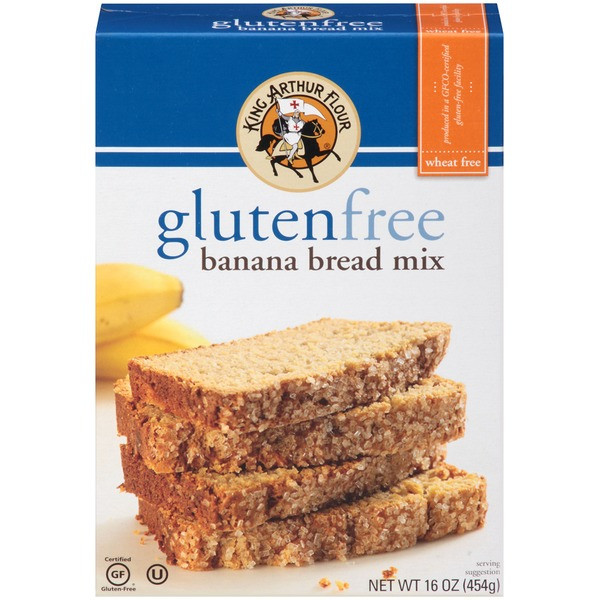 King Arthur Gluten Free Bread  King Arthur Flour Gluten Free Banana Bread Mix from Whole