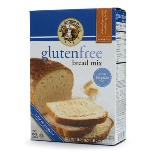 King Arthur Gluten Free Bread  King Arthur Flour Gluten Free Bread and Pizza Crust Mix