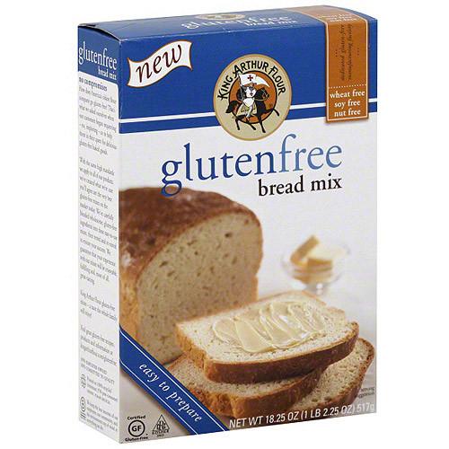 King Arthur Gluten Free Bread  King Arthur Flour Gluten Free Bread Mix 18 oz Pack of 6