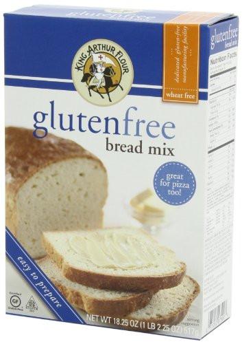 King Arthur Gluten Free Bread  King Arthur Flour Bread Mix Gluten Free 18 25 Ounce