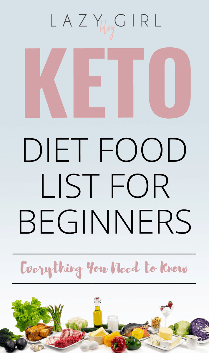 Lazy Keto Diet For Beginners  Keto Diet Food List For Beginners Everything You Need to