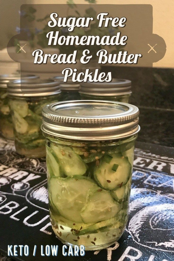 Low Carb Bread And Butter Pickles  Sugar Free Bread and Butter Pickles A Keto Kitchen With