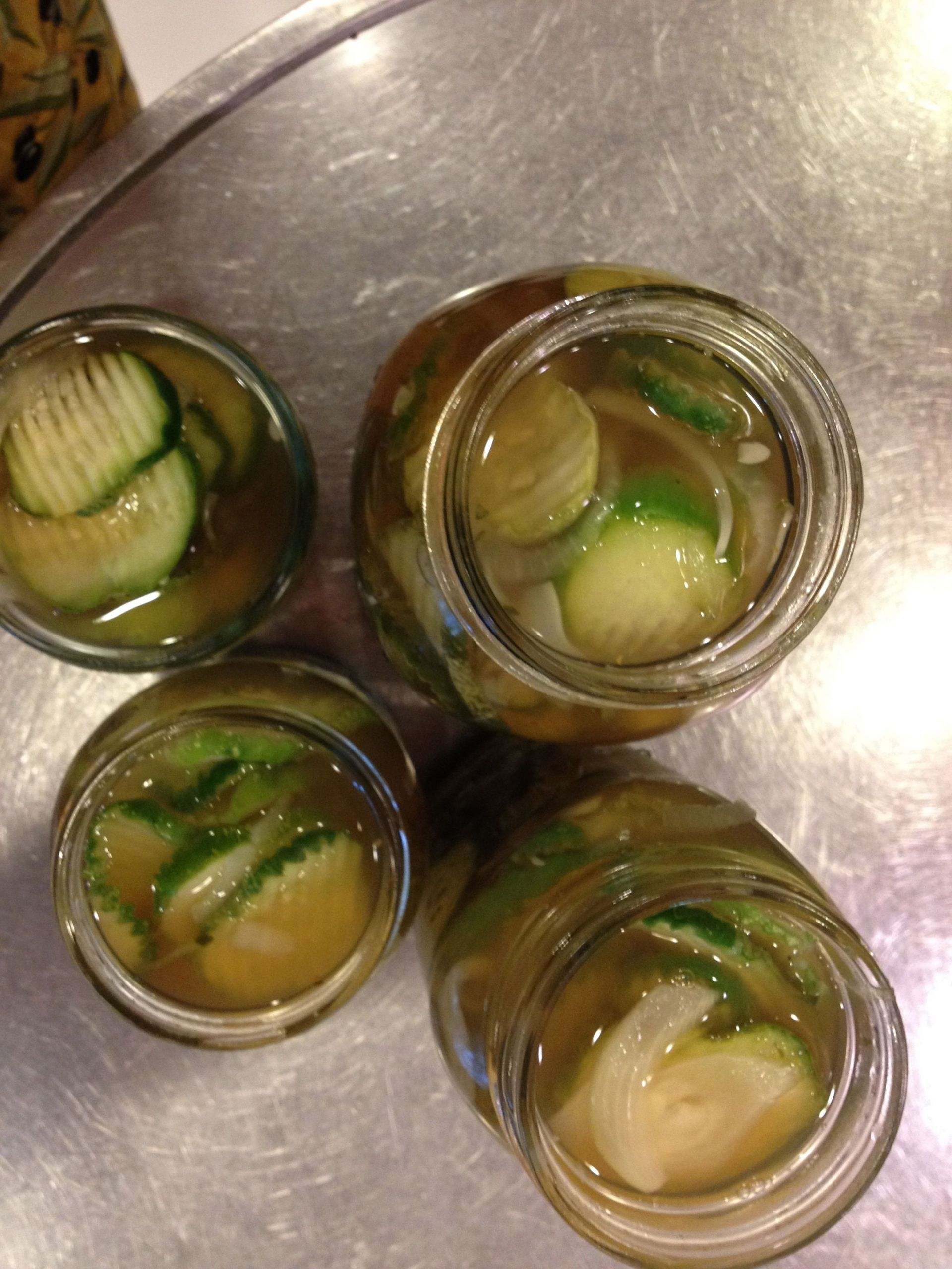 Low Carb Bread And Butter Pickles  Bread and Butter Pickles The Splenda Way