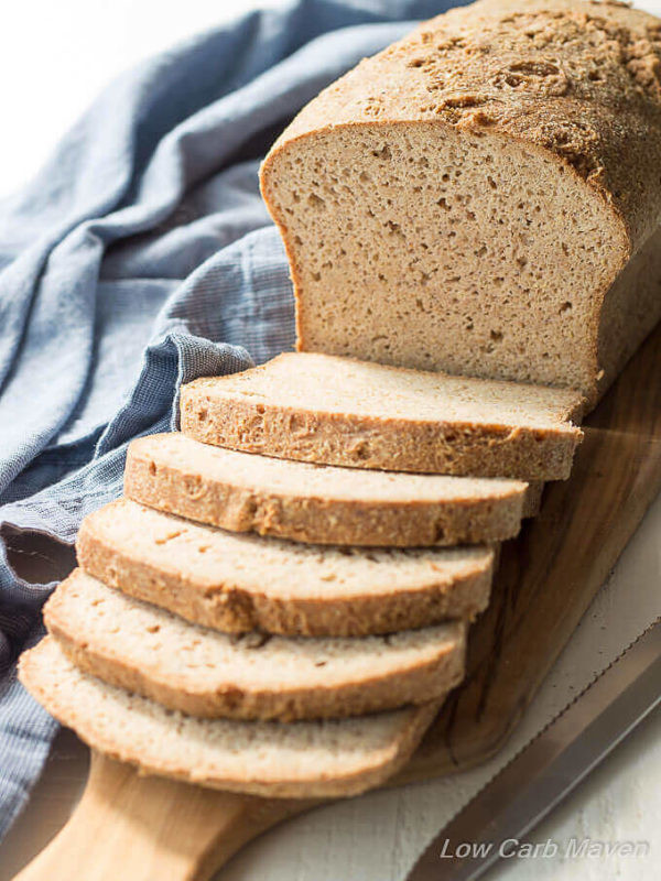 Low Carb Bread In Stores  The Best Low Carb Bread Recipe with Psyllium and Flax