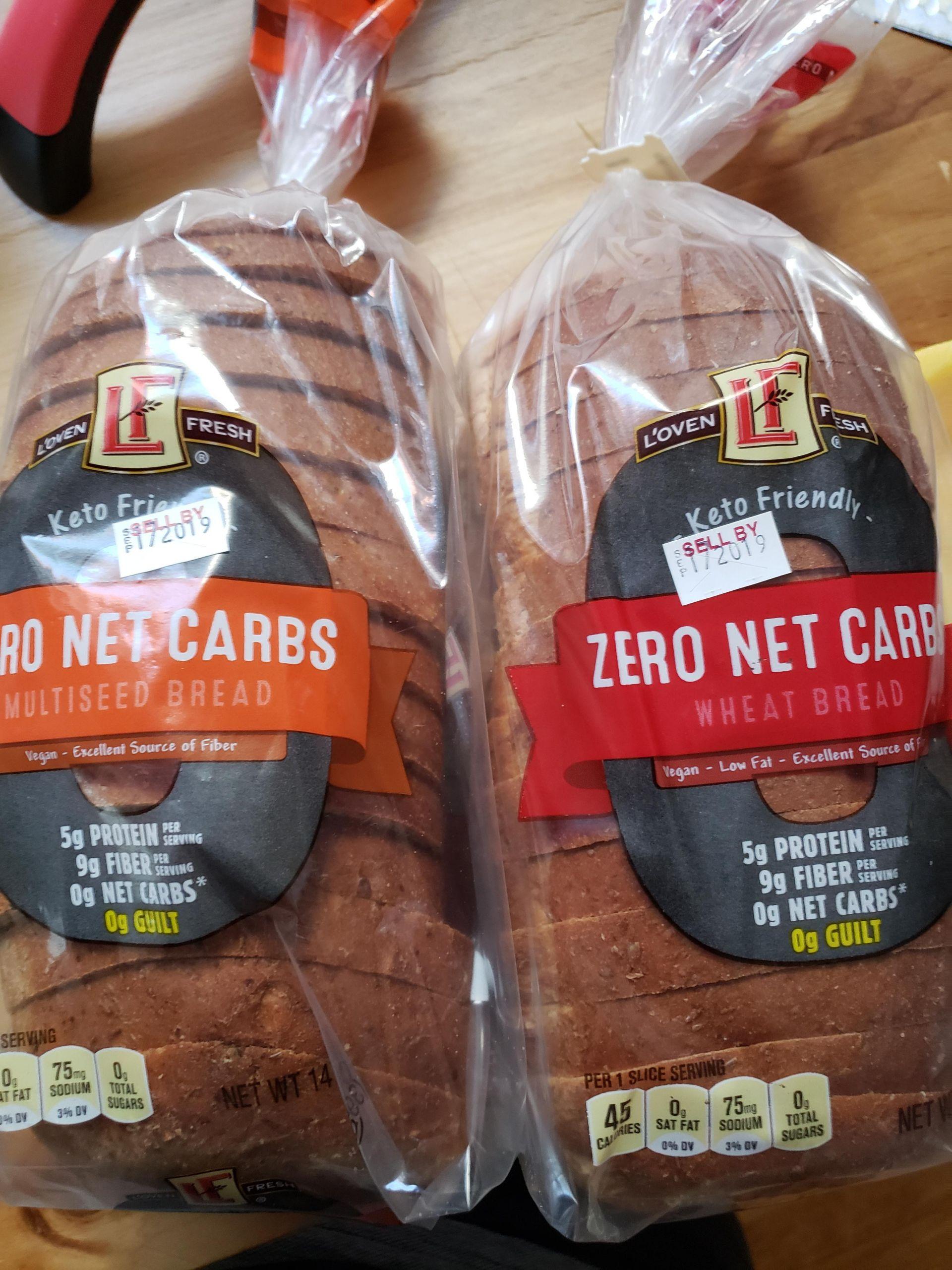 Low Carb Bread In Stores  Zero net carbs bread