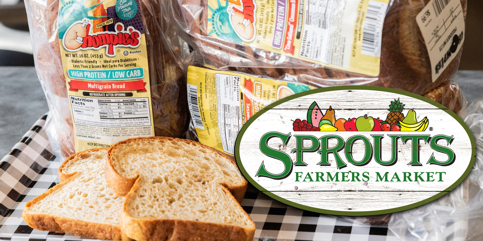 Low Carb Bread In Stores  Low Carb Bread Now Sold at Sprouts Farmers Market