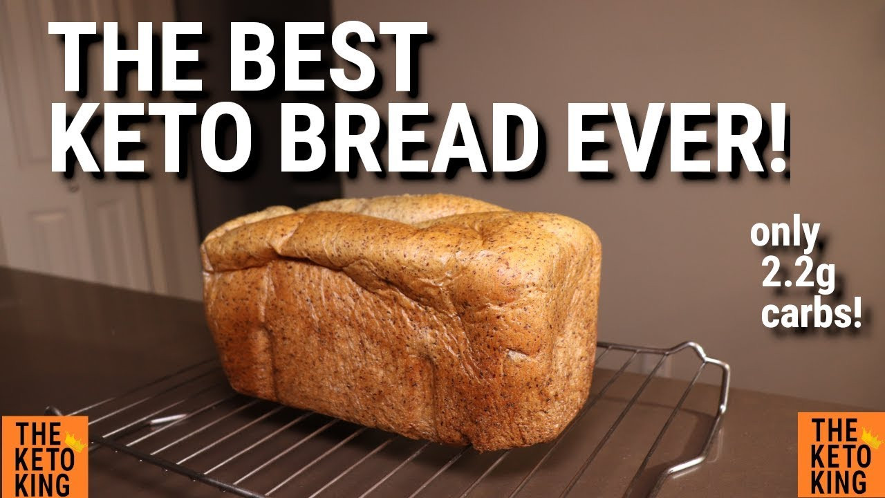 Low Carb Bread Machine Recipes  The BEST Keto Bread EVER Keto yeast bread