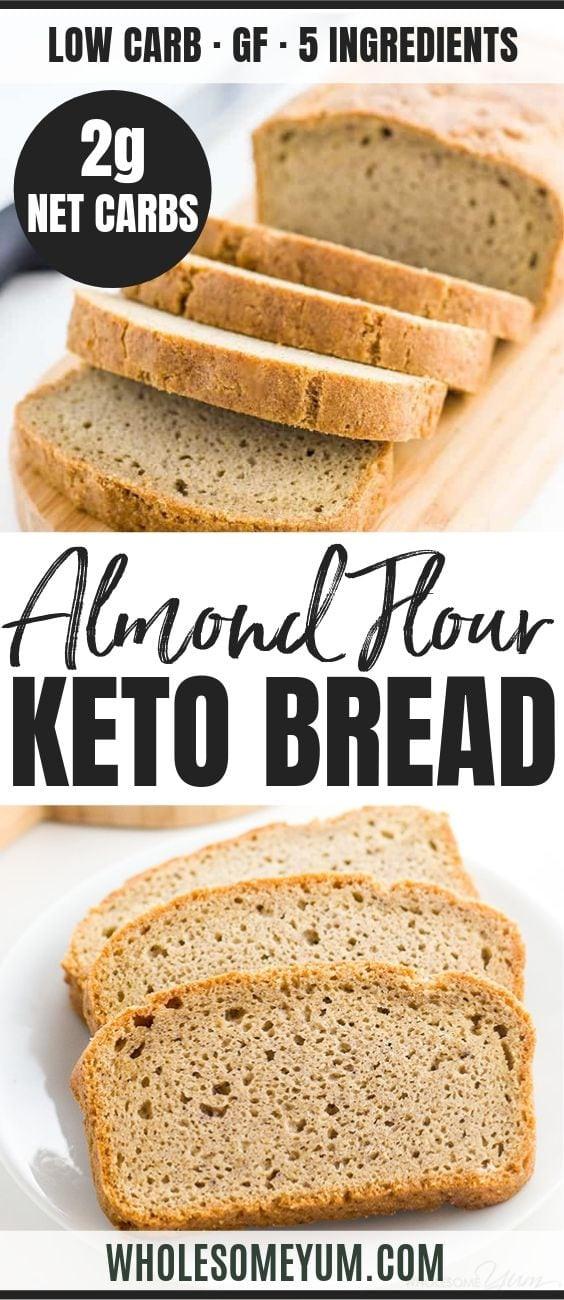Low Carb Bread Maker Recipes  Easy Low Carb Bread Recipe Almond Flour Bread Paleo