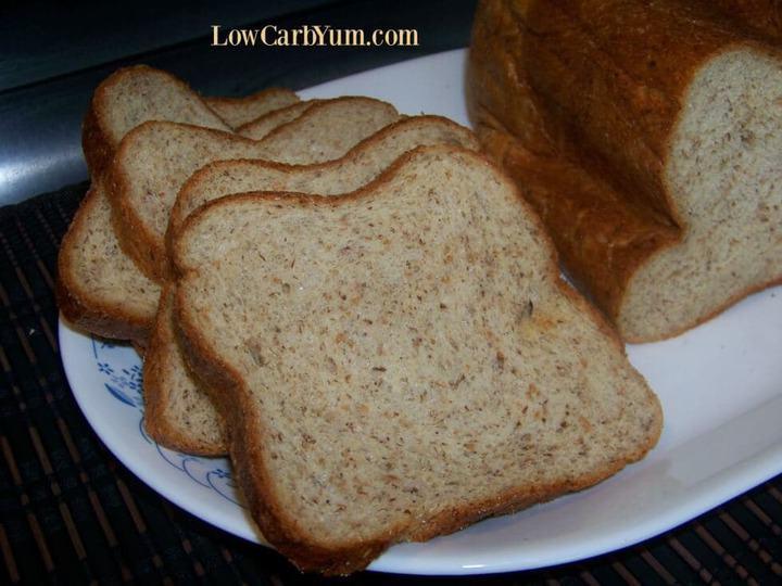 Low Carb Bread Maker Recipes  Keto Yeast Bread Recipe for Bread Machine