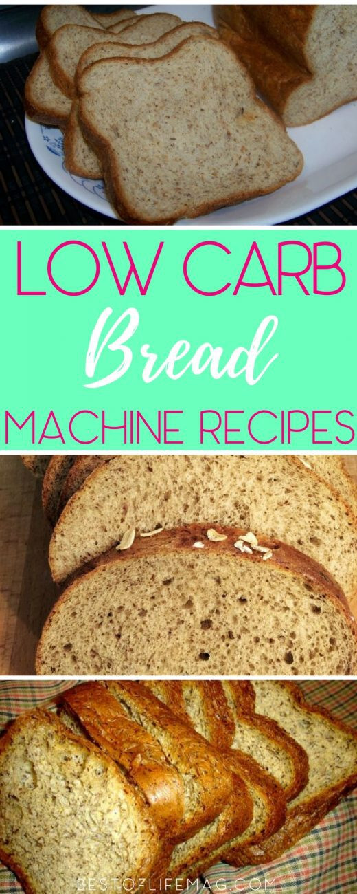 Low Carb Bread Maker Recipes  Low Carb Bread Recipes for the Bread Machine Best of
