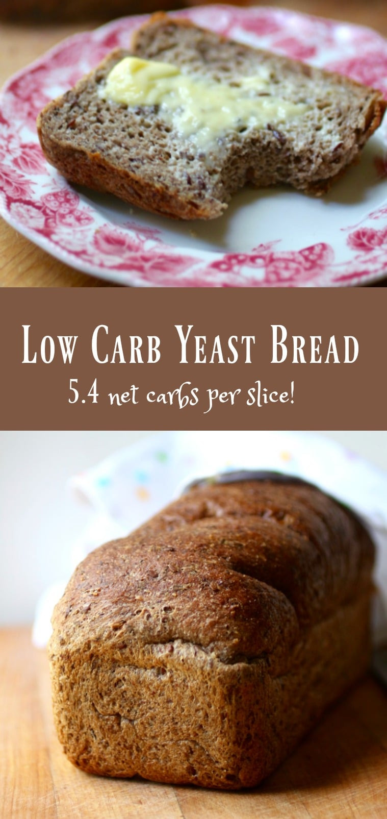 Low Carb Bread Recipes  Low Carb Yeast Bread Keto Sandwich Bread lowcarb ology