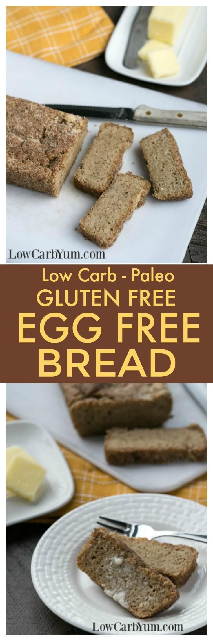 Low Carb Bread Without Eggs  Having trouble finding a low carb bread without eggs Here