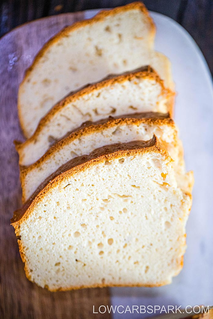 Low Carb Bread Without Eggs  The Best Keto Bread without Eggs 1g net carbs Low Carb