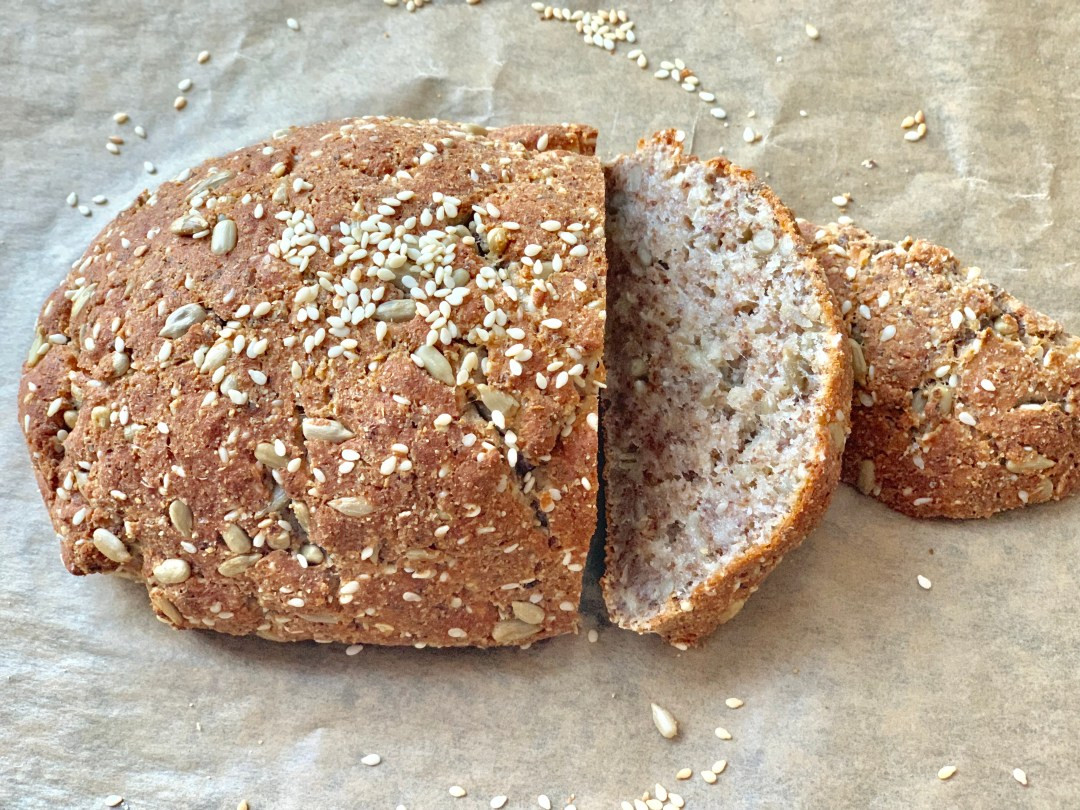 Low Carb Bread Without Eggs  Keto bread without eggs low carb artisan bread Family