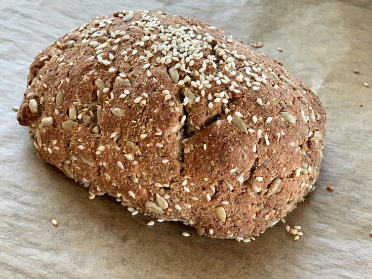 Low Carb Bread Without Eggs  Keto bread without eggs low carb artisan bread