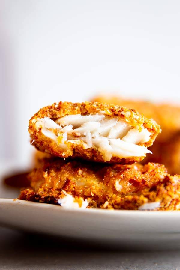 Low Carb Breaded Fish  The Best Low Carb Oven Fried Fish