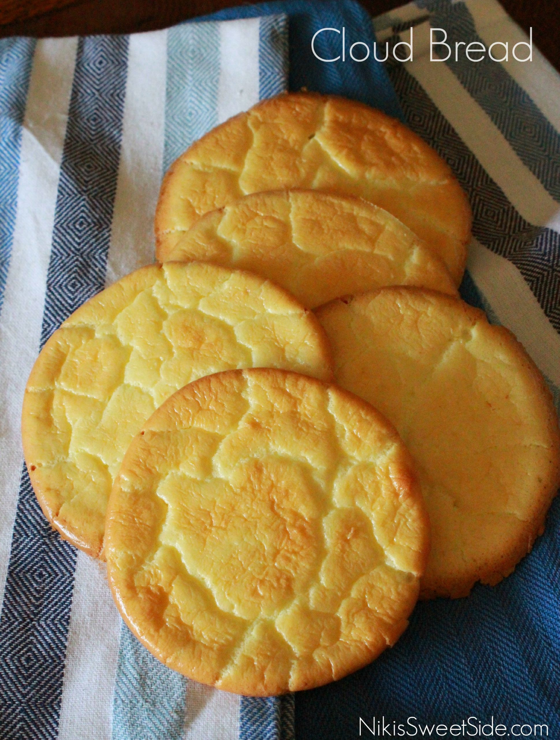 Low Carb Cloud Bread Recipe  Low Carb Cloud Bread
