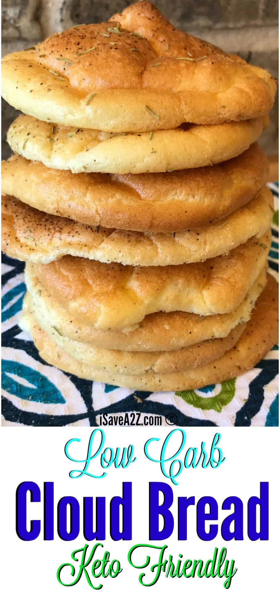 Low Carb Cloud Bread Recipe  Low Carb Cloud Bread Recipe Made with Baking Soda Baking