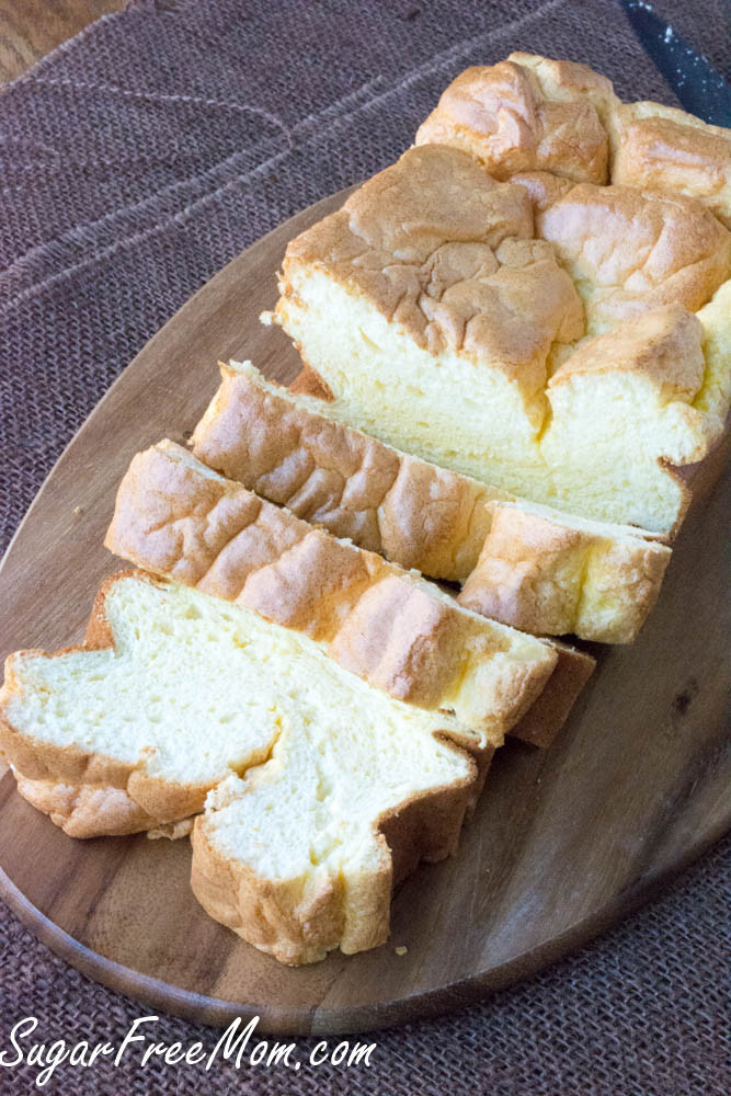 Low Carb Cloud Bread Recipe  Low Carb Cloud Bread Loaf