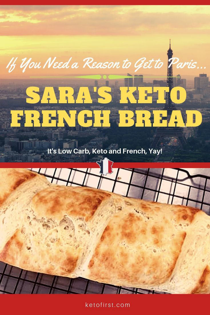 Low Carb French Bread Recipe  Keto French Bread & Low Carb Baguette Recipe KetoFirst