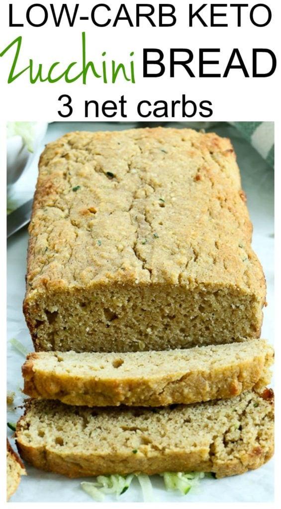 Low Carb Healthy Bread  Low Carb Keto Zucchini Bread Happy Healthy Mama