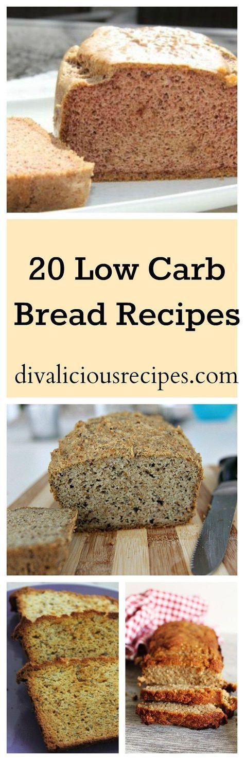 Low Carb Healthy Bread  20 Low Carb Bread Recipes