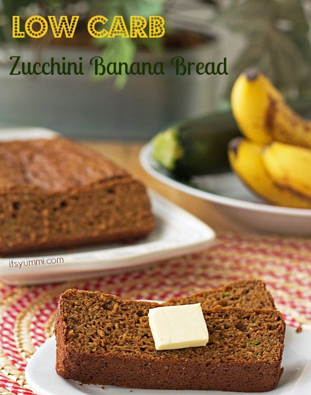 Low Carb Healthy Bread  Low Carb Zucchini Banana Bread Recipe ⋆ Its Yummi