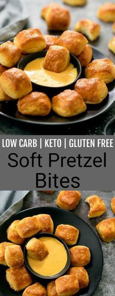 Low Carb Keto Soft Pretzel Bites  Low Carb Keto Soft Pretzel Bites Yummy Recipes