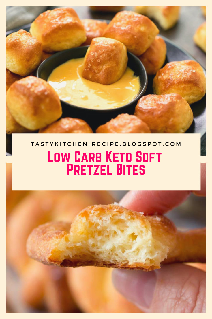Low Carb Keto Soft Pretzel Bites  Low Carb Keto Soft Pretzel Bites Tasty Kitchen Recipes