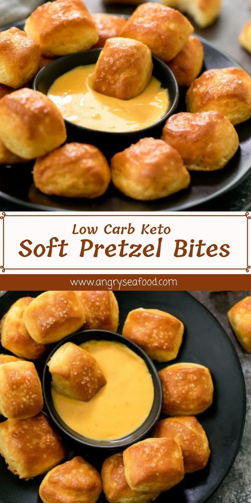 Low Carb Keto Soft Pretzel Bites  Low Carb Keto Soft Pretzel Bites Healthyfoodrecipe